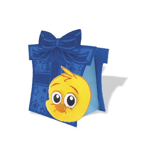 Caixa Surpresa de Lembrancinha do Pintinho - Personagem da Turma do Bob Zoom